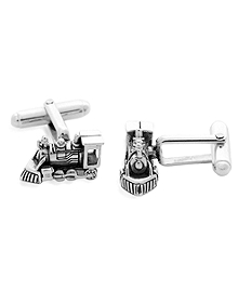 Train Cuff Links