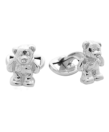 Teddy Bear Cuff Links