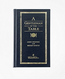 A Gentleman At The Table Book