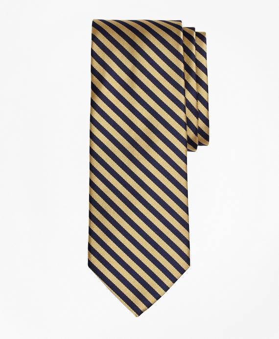 BB#5 Repp Tie Gold-Navy