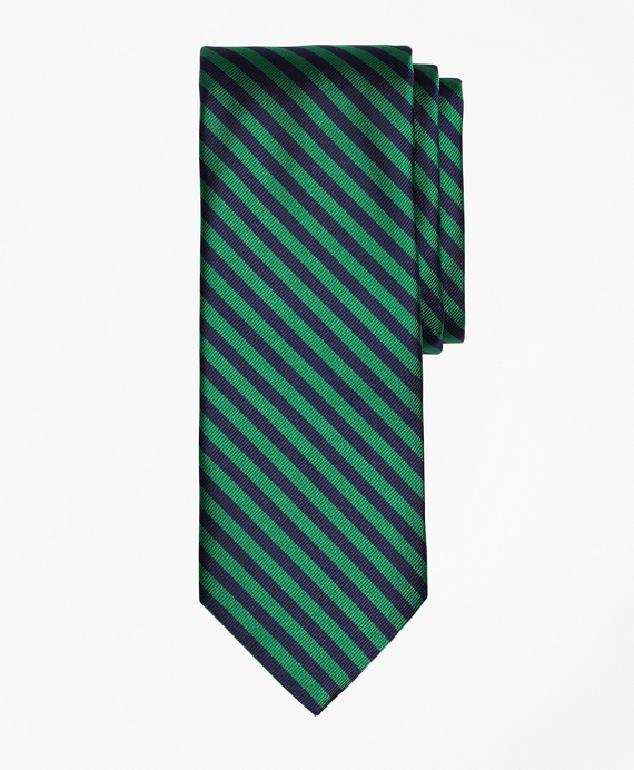 BB#5 Repp Tie Green-Navy