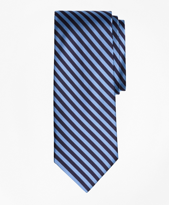 BB#5 Repp Tie Light Blue-Navy