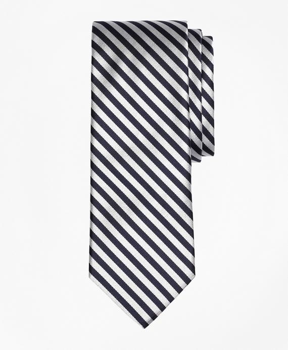BB#5 Repp Tie Navy-White