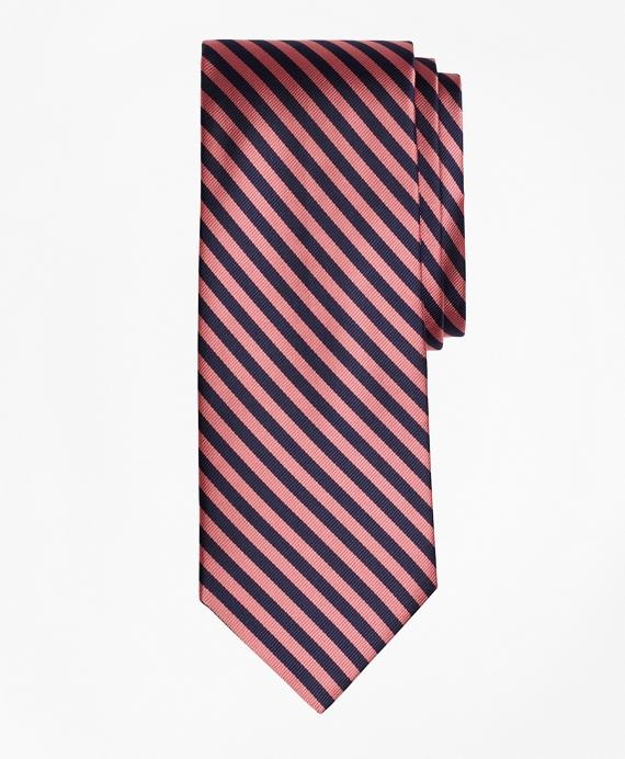 BB#5 Repp Tie Pink-Navy
