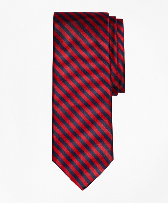 BB#5 Repp Tie Red-Navy