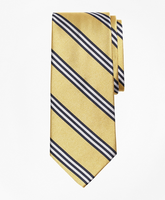 BB#1 Repp Tie Gold-Navy