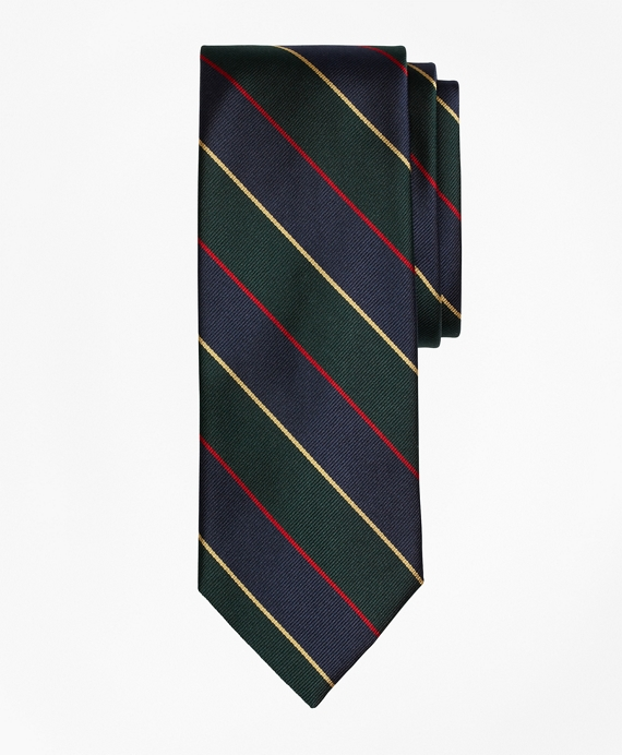 Argyle and Sutherland Repp Tie Green-Navy