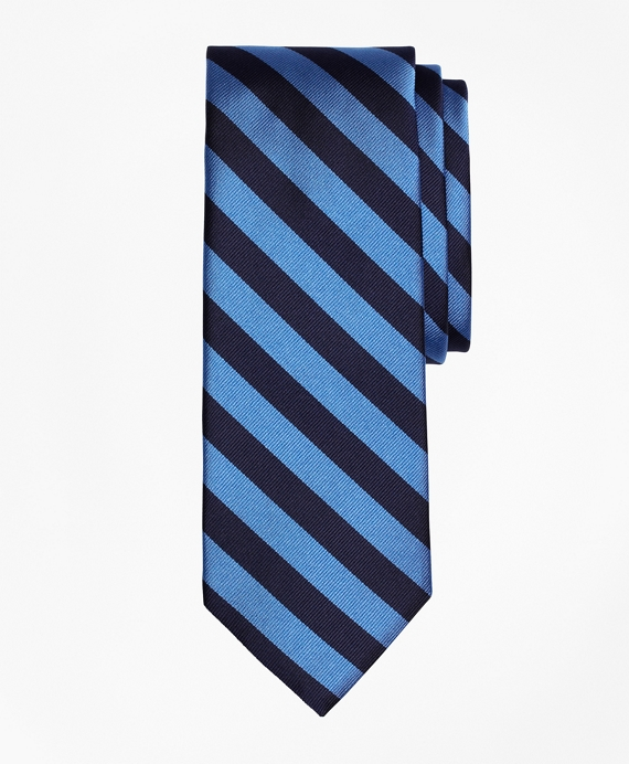 BB#4 Repp Tie Blue-Navy