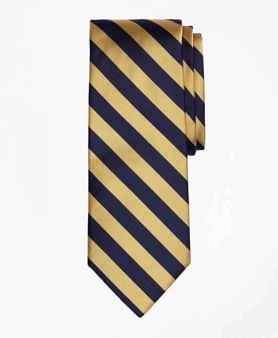 BB#4 Repp Tie Gold-Navy