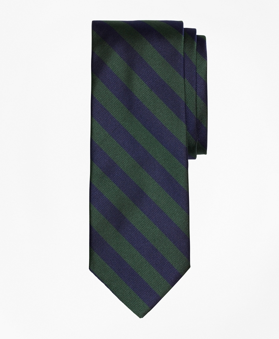 BB#4 Repp Tie Green-Navy