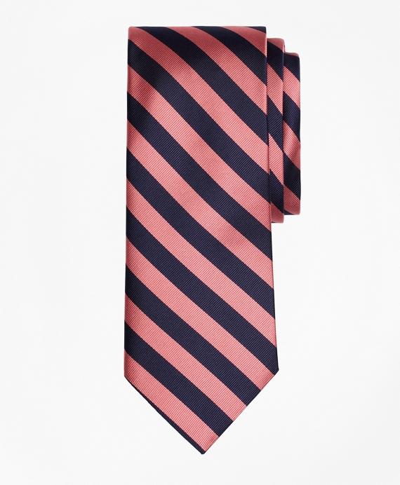 BB#4 Repp Tie Pink-Navy