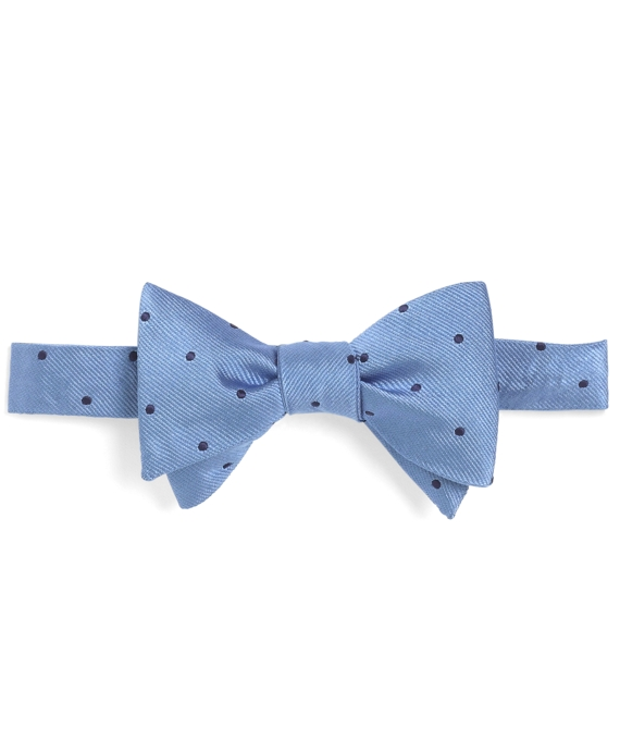 Dot Bow Tie Lt Blue-Navy