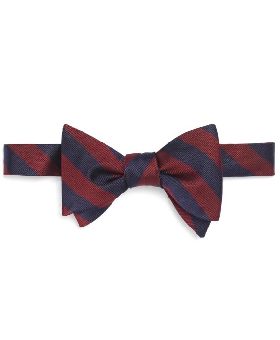 BB#4 Repp Bow Tie Burgundy