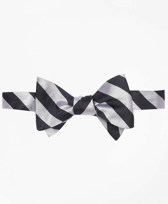 BB#4 Repp Bow Tie Navy-White