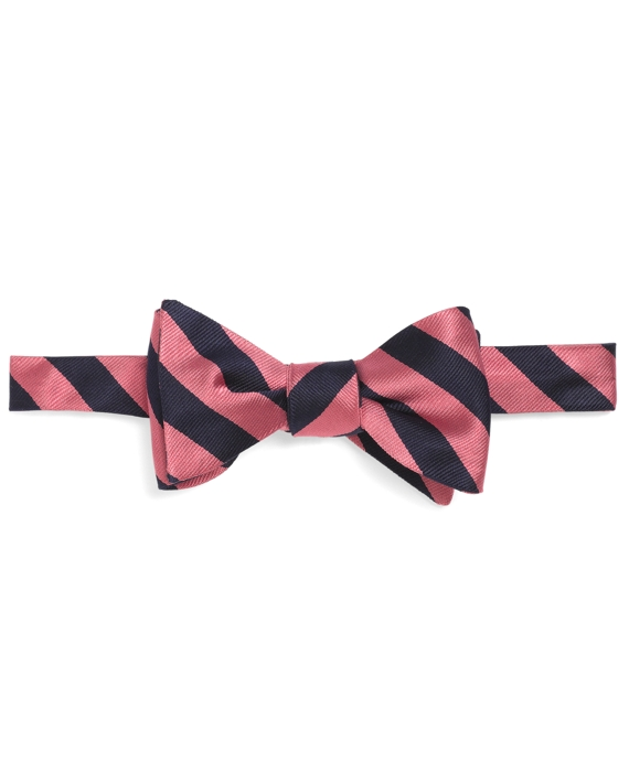 BB#4 Repp Bow Tie Pink-Navy