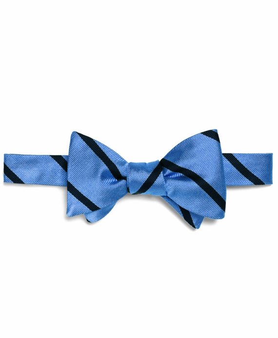 BB#3 Repp Bow Tie Light Blue-Navy