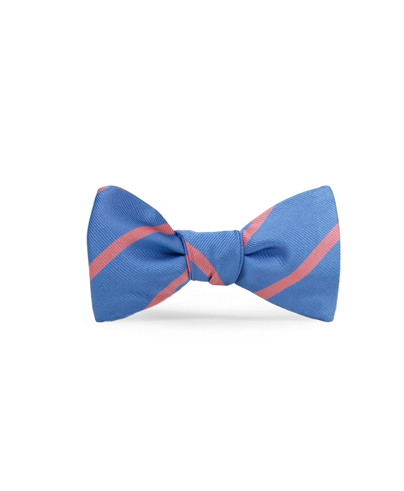 BB#3 Repp Bow Tie Light Blue-Pink