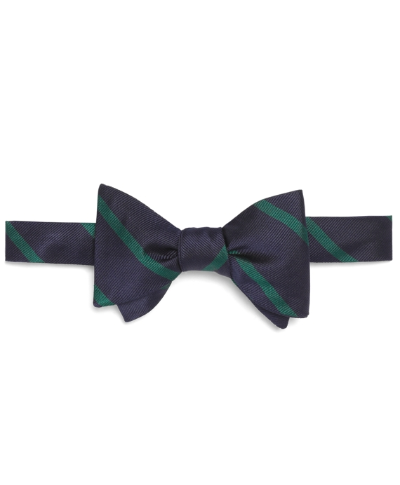 BB#3 Repp Bow Tie Navy-Green