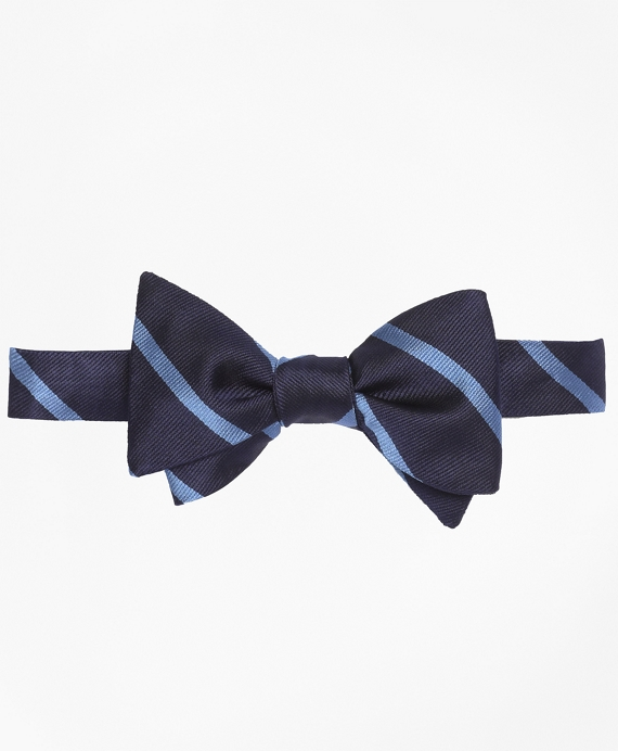 BB#3 Repp Bow Tie Navy-Light Blue