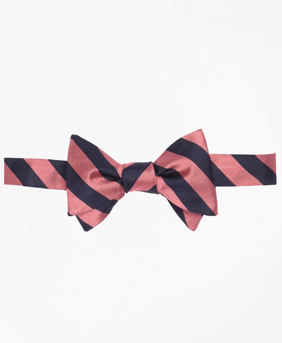 BB#3 Repp Bow Tie Navy-Pink