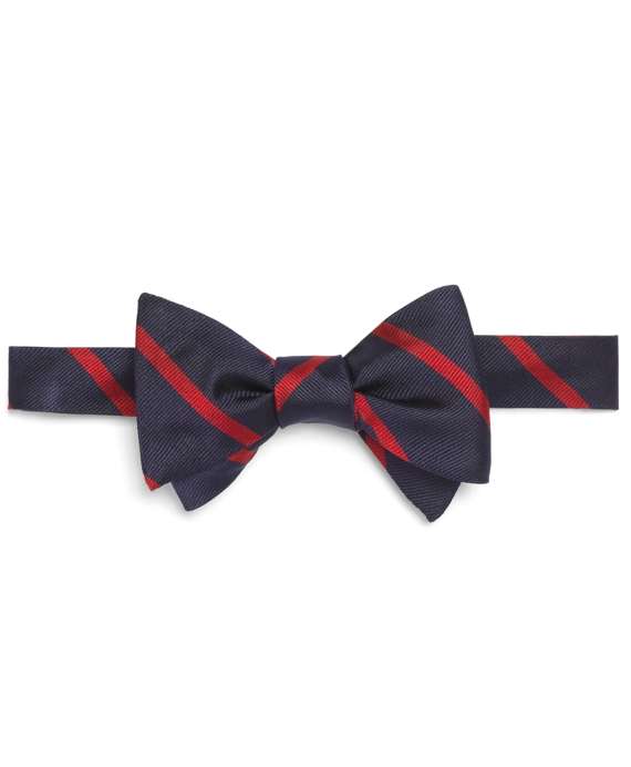 BB#3 Repp Bow Tie Navy-Red