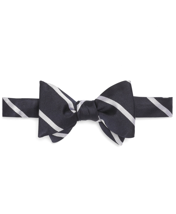 BB#3 Repp Bow Tie Navy-White