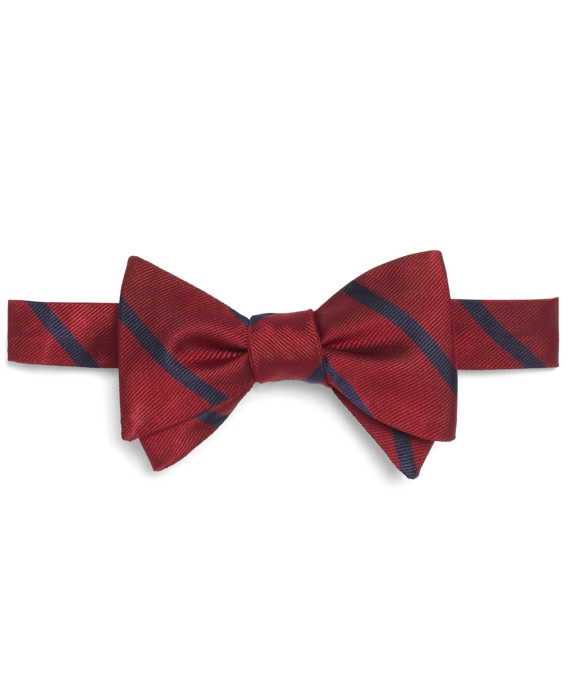 BB#3 Repp Bow Tie Red-Navy