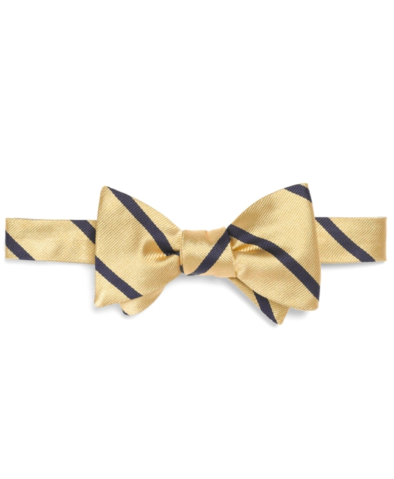 BB#3 Repp Bow Tie Yellow-Navy