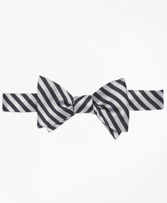 BB#5 Repp Bow Tie Navy-White