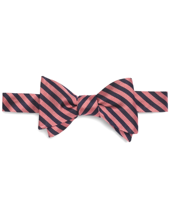 BB#5 Repp Bow Tie Pink-Navy