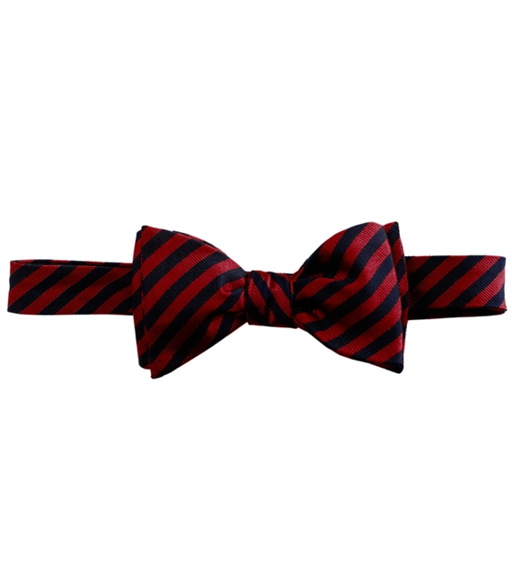 BB#5 Repp Bow Tie Red-Navy