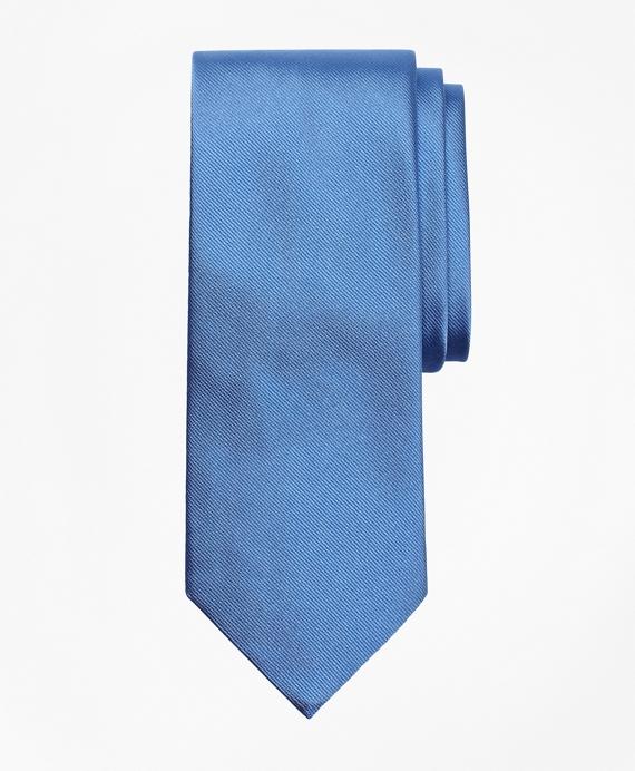 Solid Repp Tie Blue