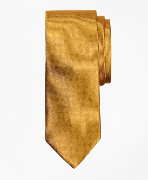 Solid Repp Tie Gold