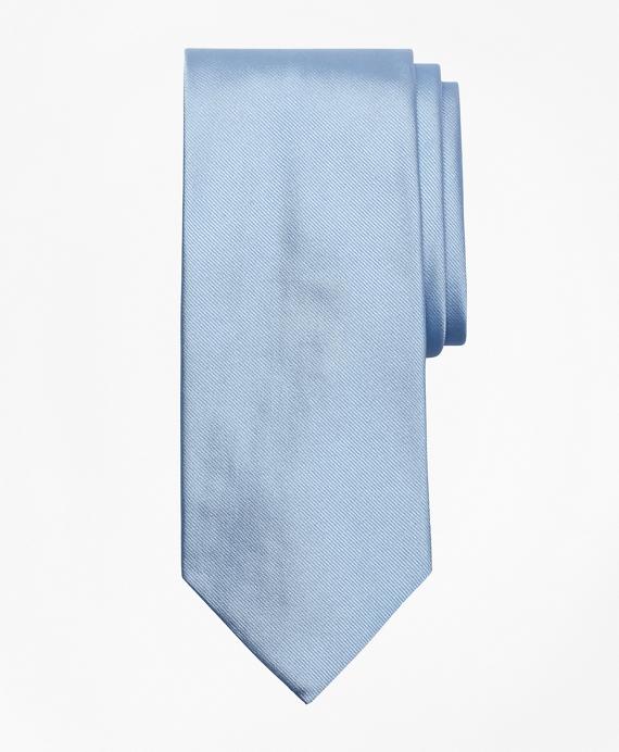 Solid Repp Tie Light Blue