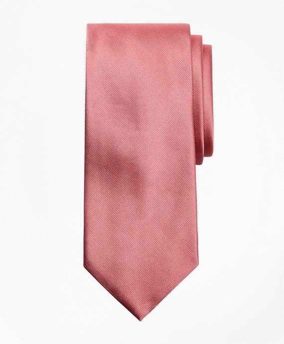 Solid Repp Tie Pink