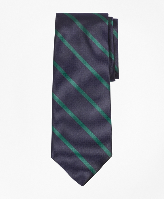 BB#3 Repp Tie Navy-Green