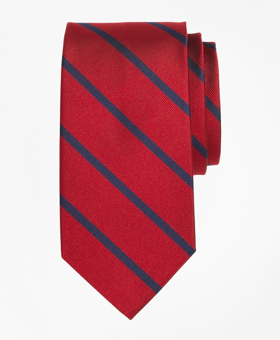 BB#3 Repp Tie Red-Navy