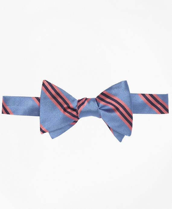 BB#1 Repp Bow Tie Light Blue-Pink
