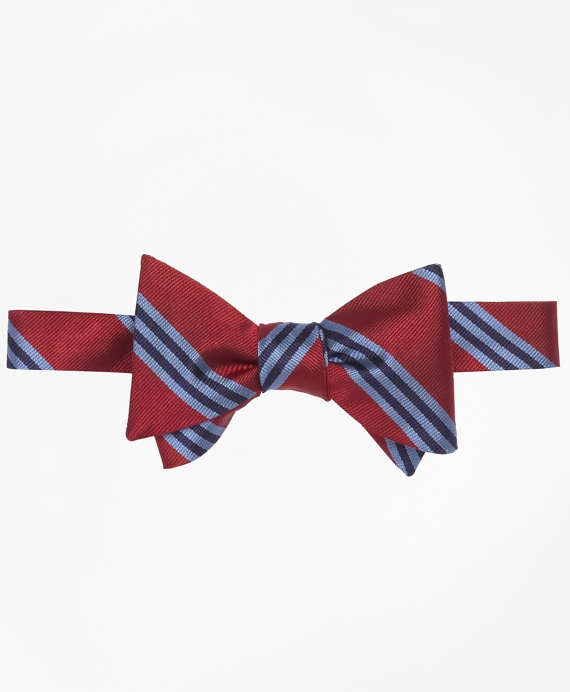 BB#1 Repp Bow Tie Red-Light Blue