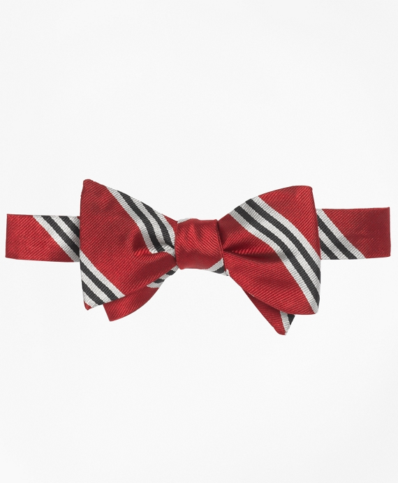 BB#1 Repp Bow Tie Red-White