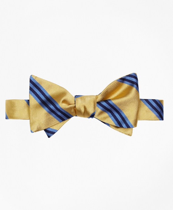 BB#1 Repp Bow Tie Yellow-Light Blue