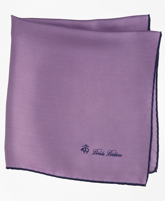 Silk Pocket Square Lavender