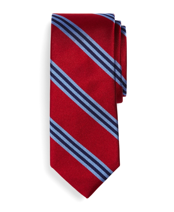 BB#1 Repp Slim Tie Red