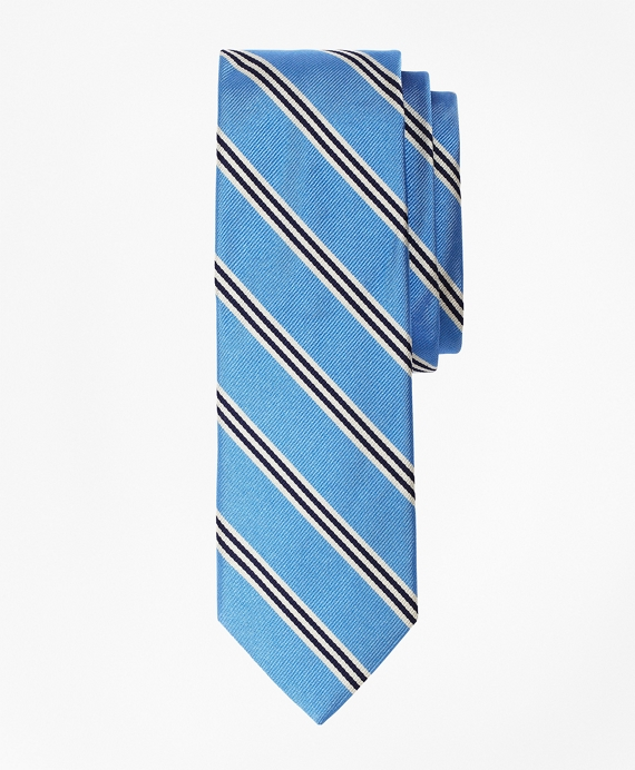 Mini BB#1 Repp Slim Tie Light Blue