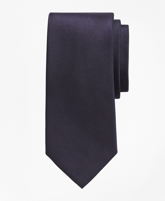Solid Slim Tie Navy