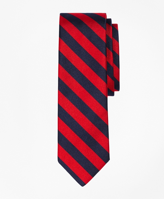BB#4 Repp Slim Tie Red-Navy