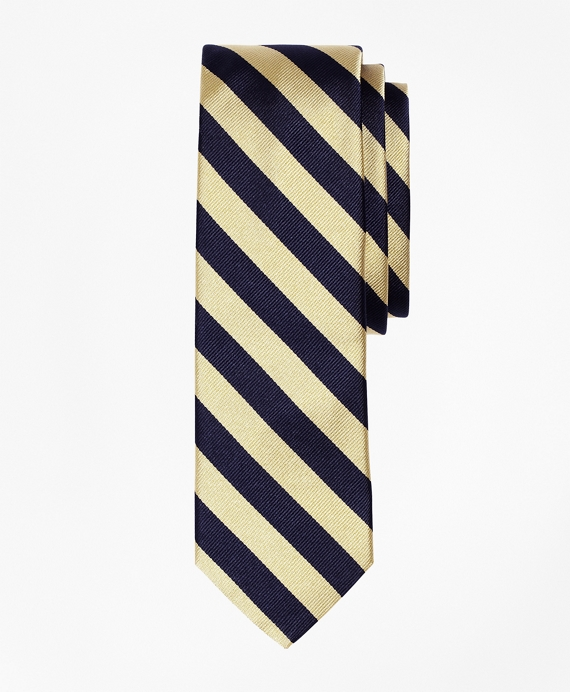 BB#4 Repp Slim Tie Yellow