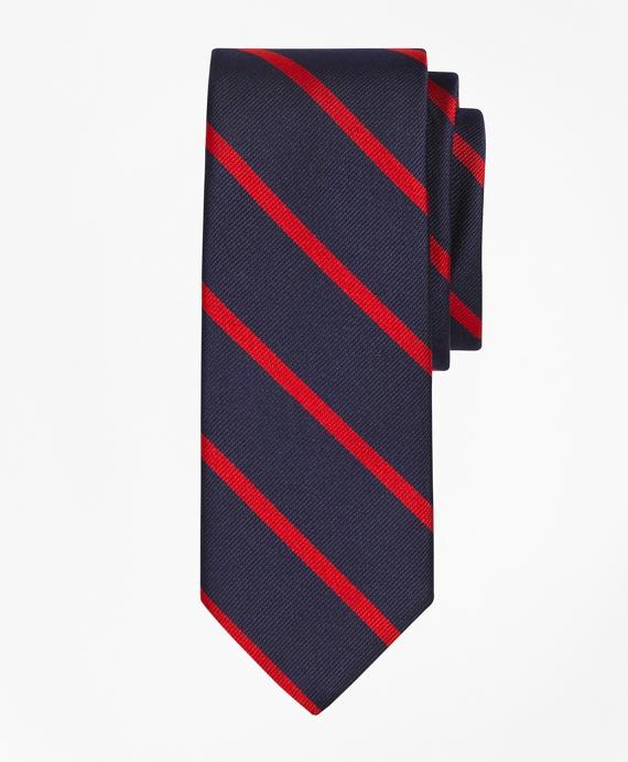 BB#3 Repp Slim Tie Navy-Red