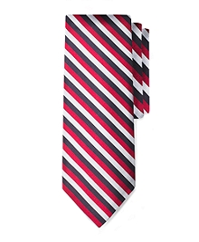 Black Fleece Jockey Stripe Tie