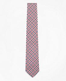 Black Fleece Houndstooth Silk Tie